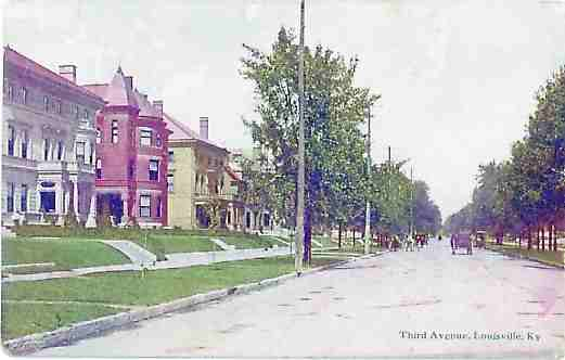 Third Avenue in 1921